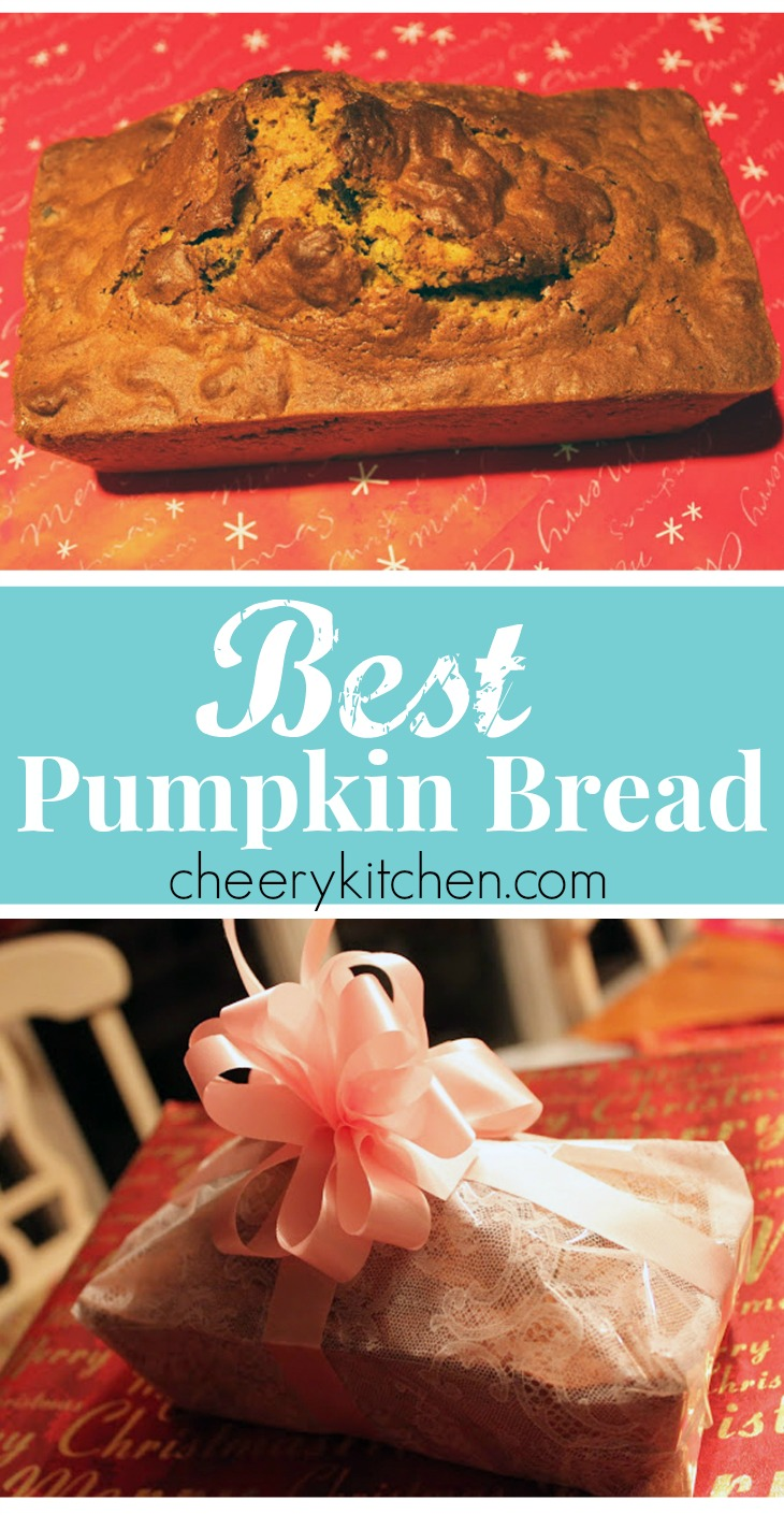 Got pudding?? YES, Best Pumpkin Bread is flavorful, moist, and over the top amazingly good. Take my challenge and give it a try. Promise, pudding makes all the difference and you're gonna love it!