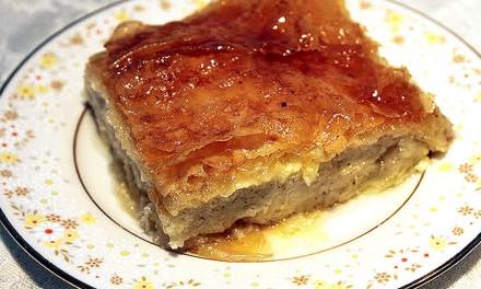 Galaktoboureko GreeK Pastry