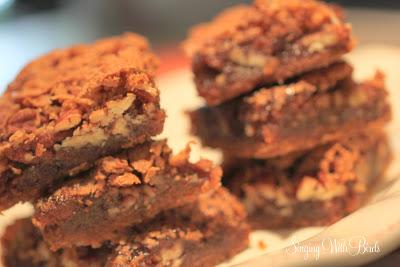 Ginger Pecan Delight Bars