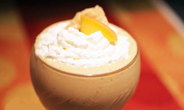 Peach Snickerdoodle Milkshakes