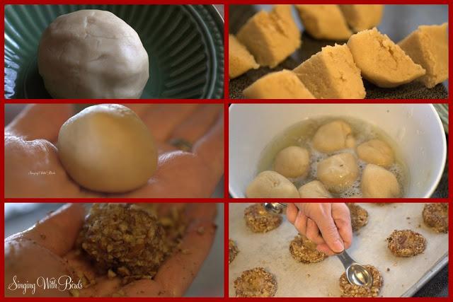 Truffled Bird Nest Cookies
