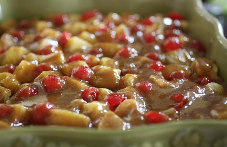 Curried Fruit Bake