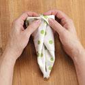 How to Fold a Bunny Napkin