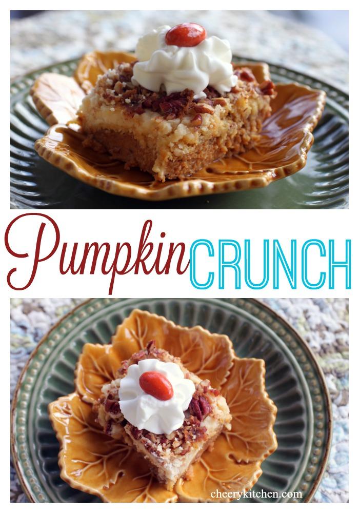 Pumpkin Crunch Dessert