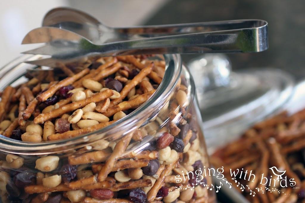 Maple Bacon Peanut Snack Mix