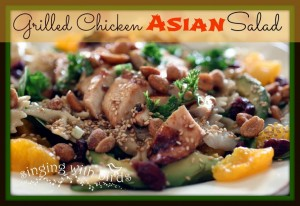 Grilled Chicken Asian Salad