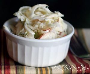 Apple Coleslaw @cheerykitchen.com