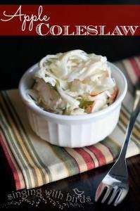 Apple Coleslaw | cheerykitchen.com