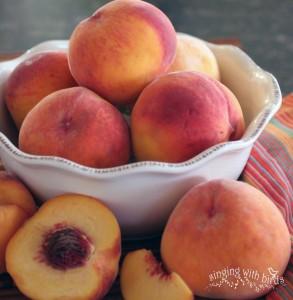 Idaho Peaches | cheerykitchen.com
