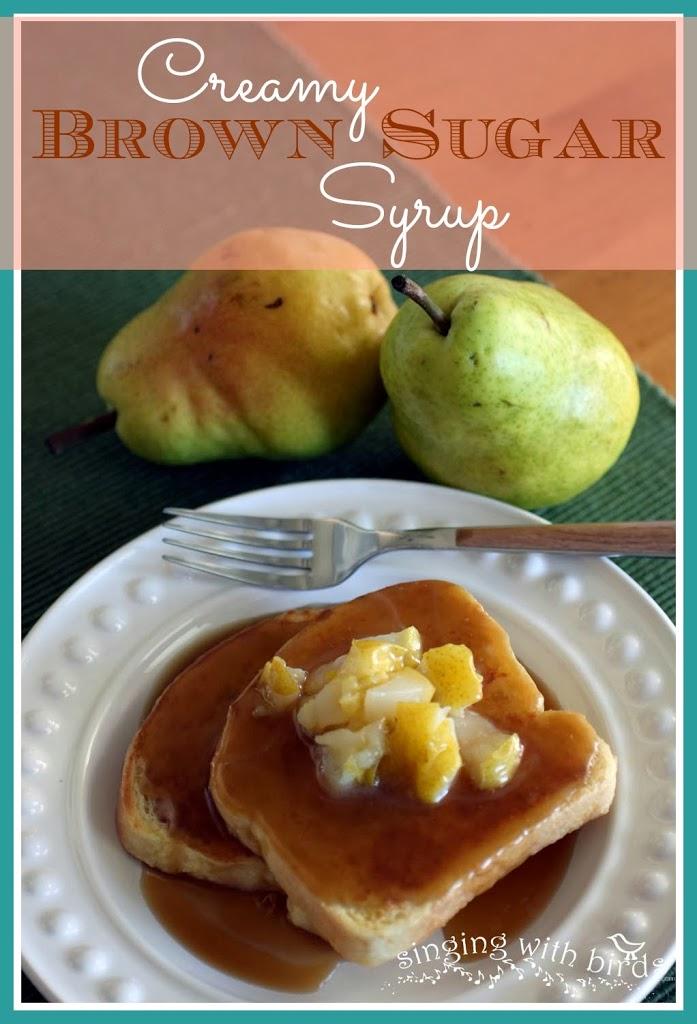 Creamy Brown Sugar Syrup