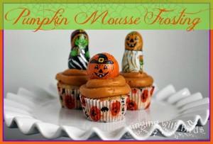 Pumpkin-Mousse Frosting | cheerykitchen.com