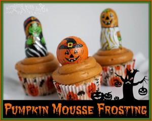 Pumpkin Mousse Frosting |cheerykitchen.com