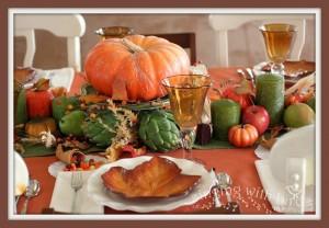 Thanksgiving Candy Cornucopias | cheerykitchen.com