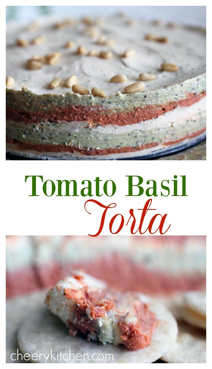Tomato Basil Torta