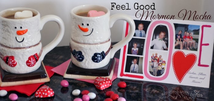 Feel Good Mormon Mocha | singingwithbirds.com