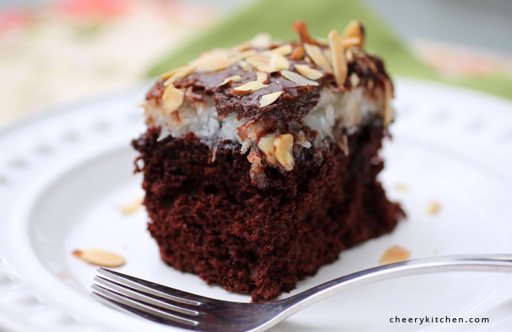 Almond-JOY-Cake