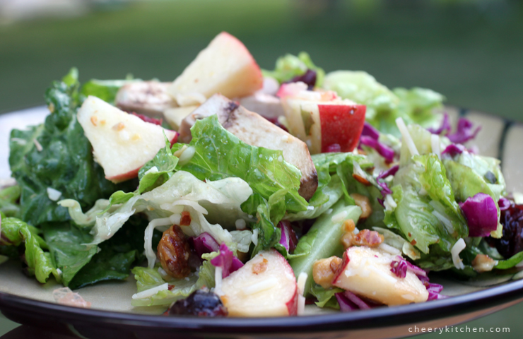 Tangy Apple Bacon Salad