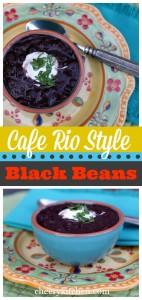 Cafe Rio Style Black Beans