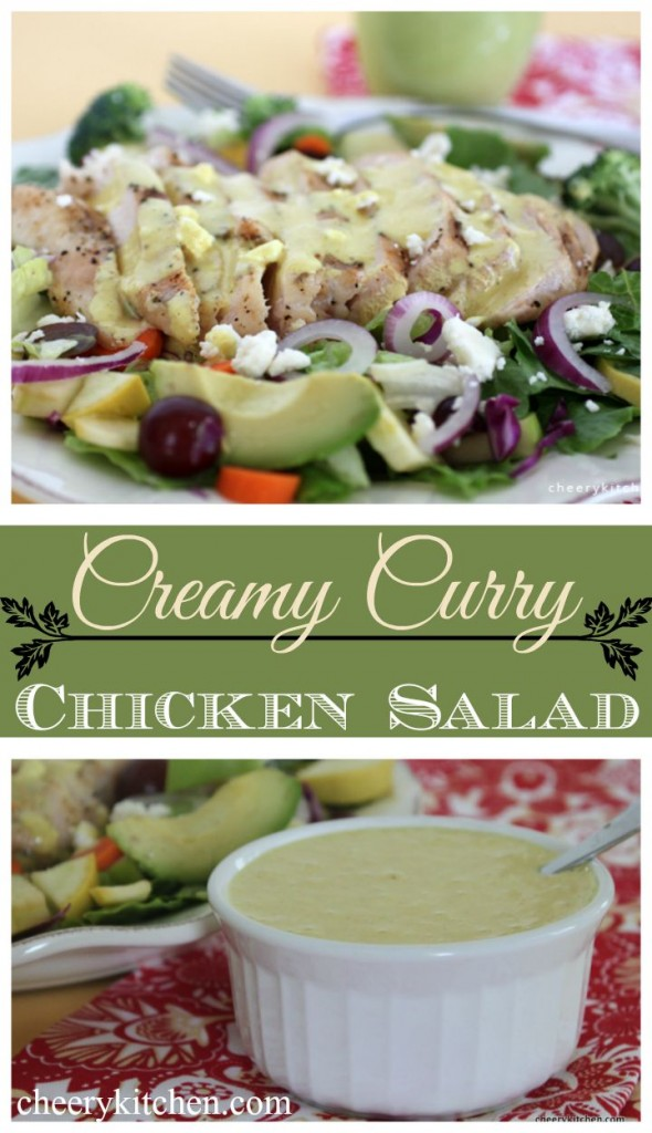 Creamy Curry Chicken Salad