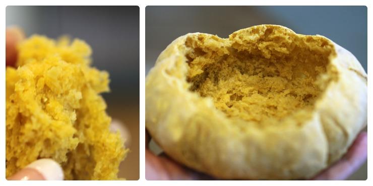 Artisan Pumpkin Bread Bowls
