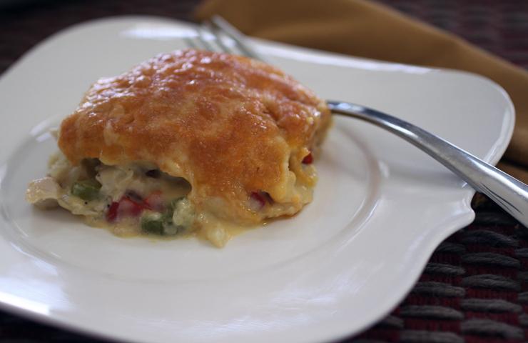 Hot Turkey Salad Soufflé