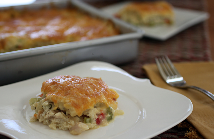 Hot Turkey Salad Soufflé