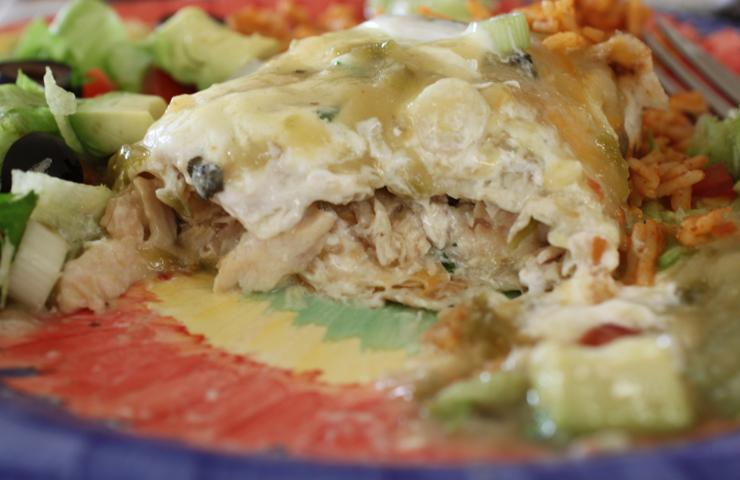 Smothered Chicken Burrito