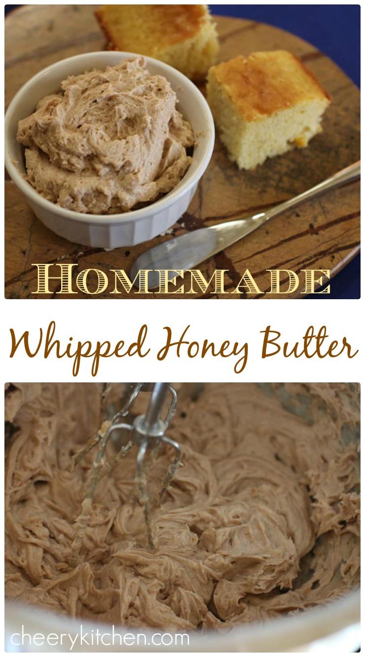 Homemade Whipped Honey Butter