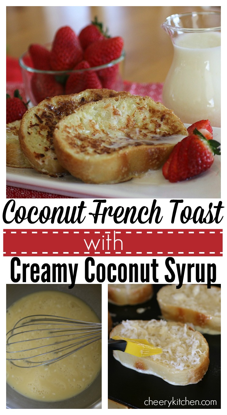 Coconut French Toast with Creamy Coconut Syrup