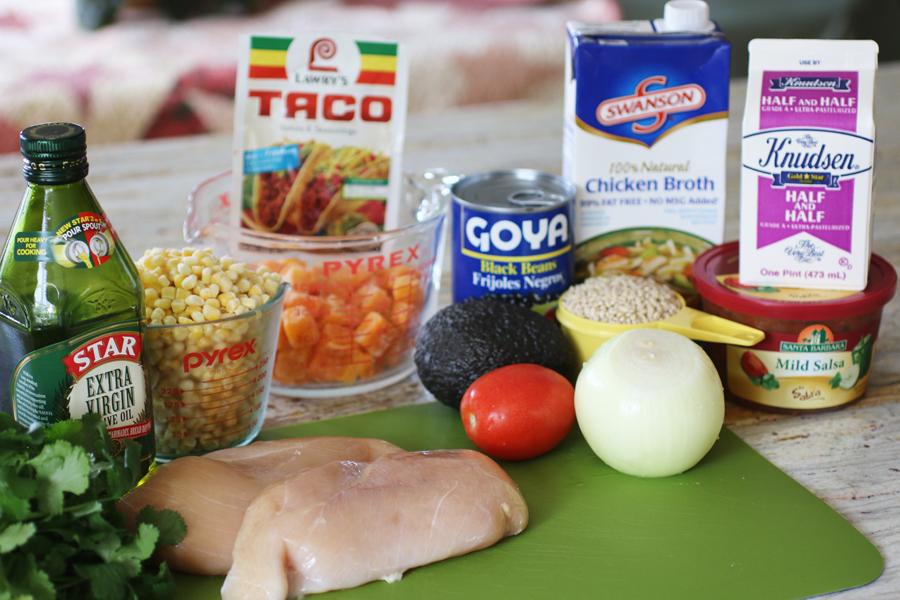 Southwestern Chicken Barley Chowder |cheerykitchen.com