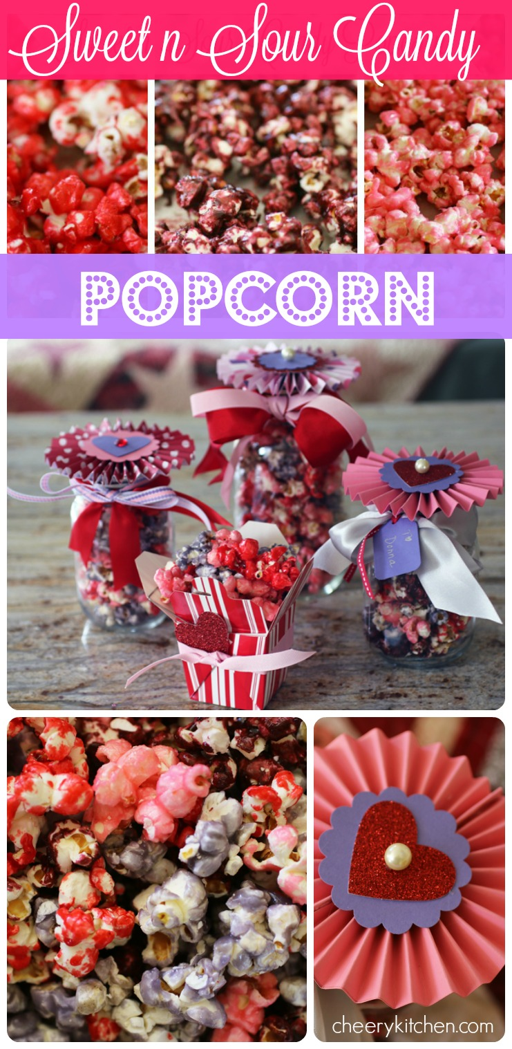 Sweet n Sour Candy Popcorn