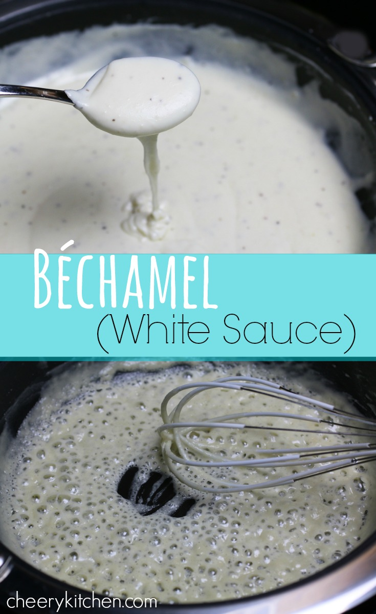 French Béchamel Sauce is easy and versatile. You'll use it in so many ways we're excited to share with you. Save money, no more canned cream soups! It freezes well too.