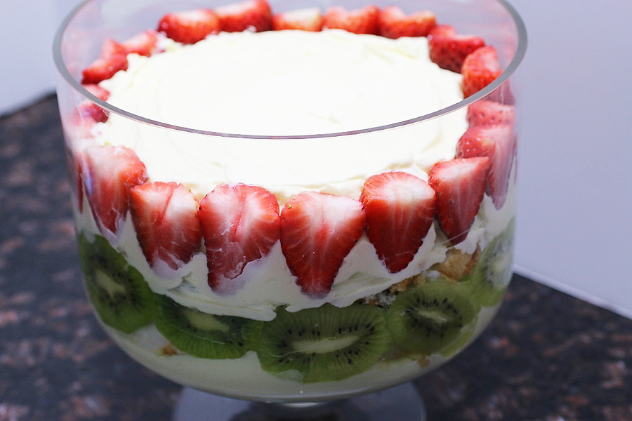Berry Low Carb Trifle