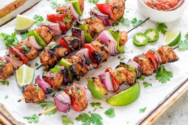 Grilled-Fajita-Chicken-Kebab-Recipe