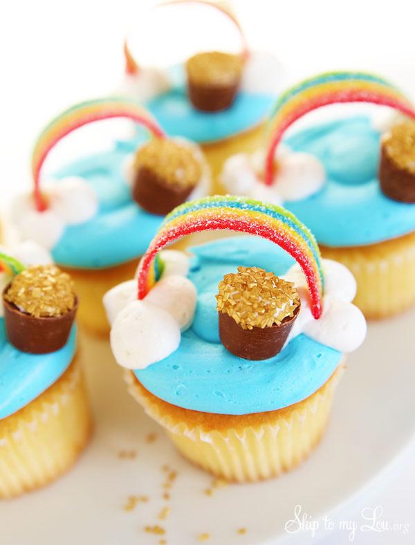 St-Patricks-Day-cupcakes