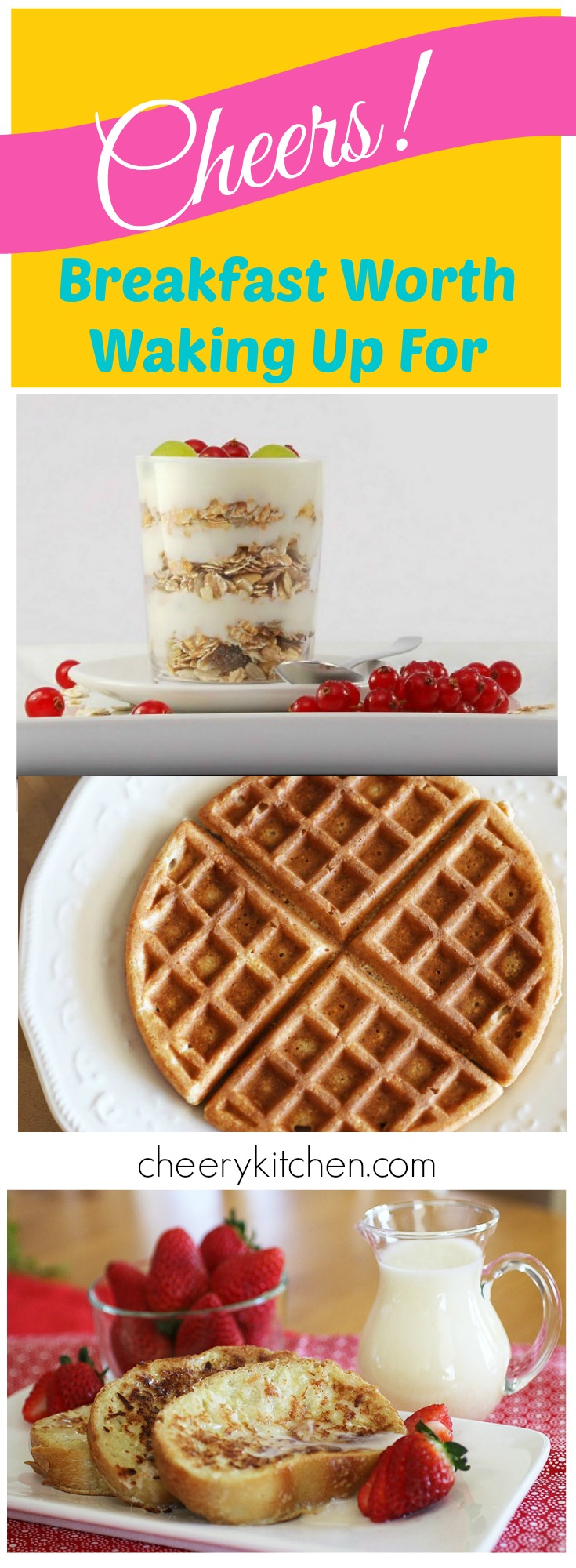 Do you need some motivation in the morning to wake up? Here are the best breakfasts from all over the web!