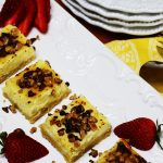 English Toffee Cheesecake Bars