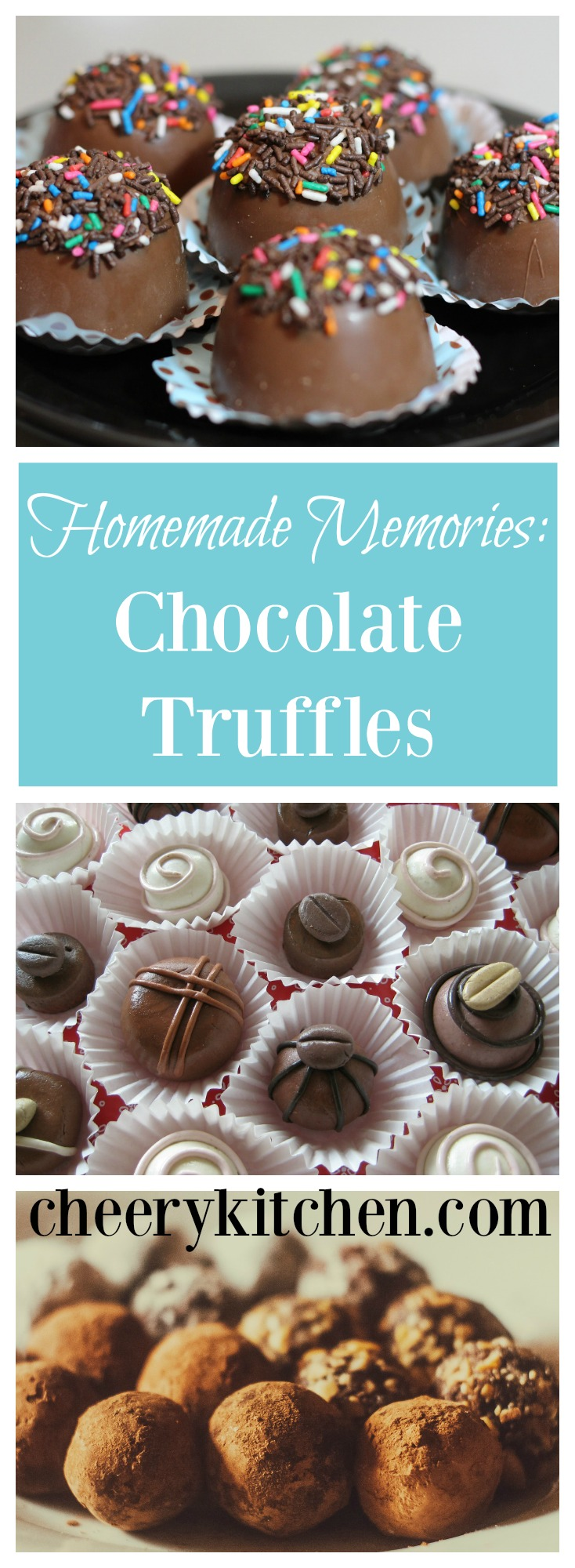 Honor your mother by making these sinfully delicious chocolate truffles. Perfect to customize to your preference with simple ingredients!