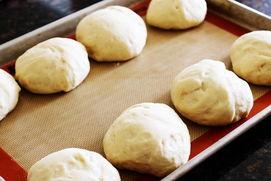 Homemade Hamburger Buns | cheerykitchen.com