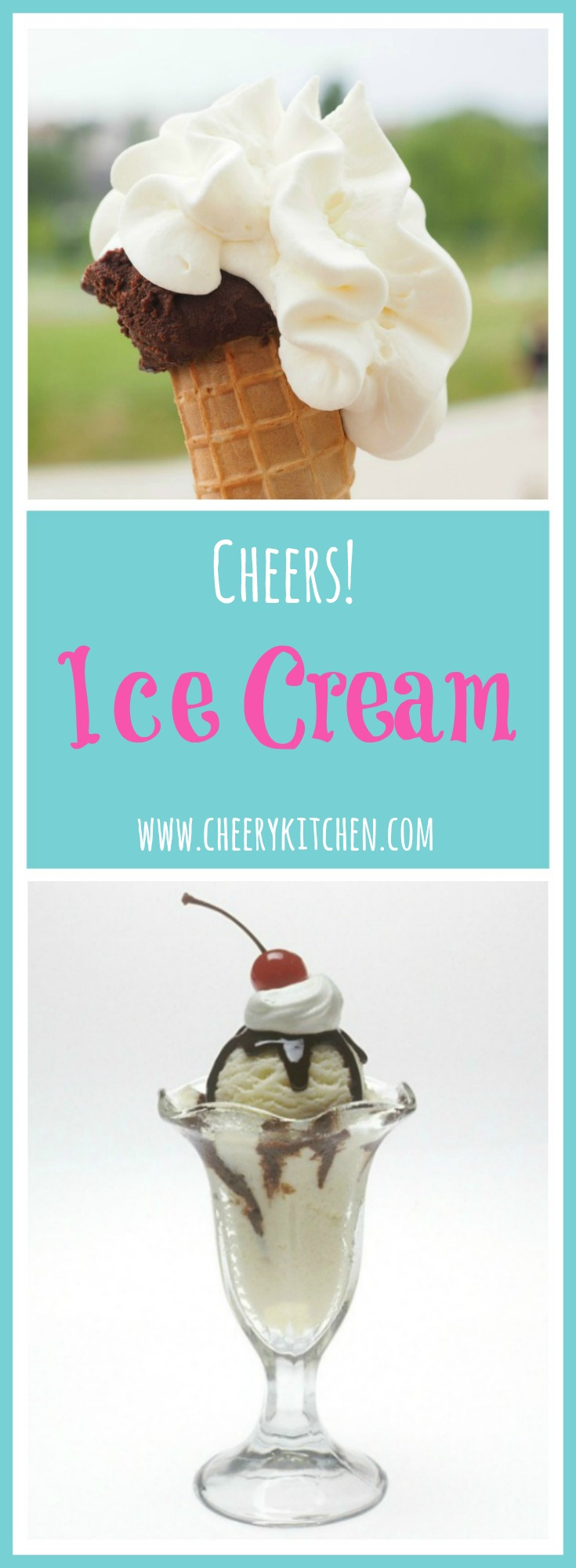 Celebrate our service men with our cheers full of ice cream and the best accessories out there! It is the best way to start the summer season!