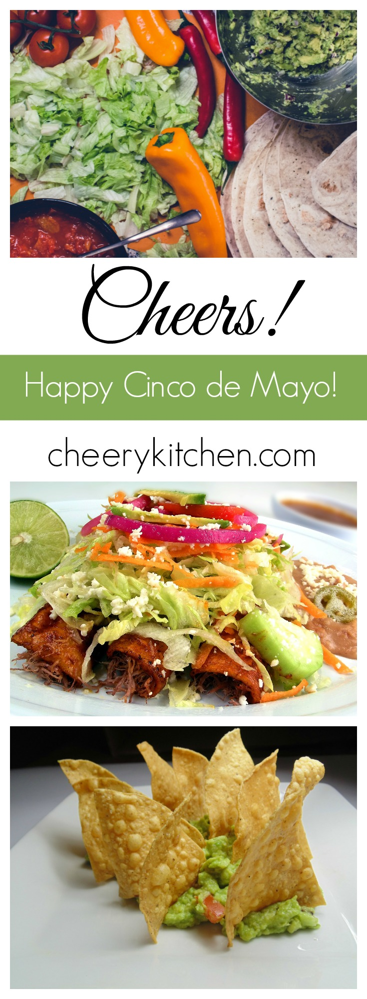 Cinco de Mayo is not just the average holiday! Spend it with us as we celebrate with Mexican feasts from all around the web!