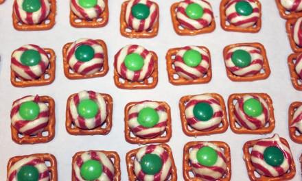 Leprechaun Buttons-Pretzel Candy Treats