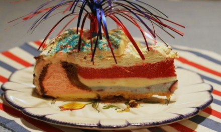 Firecracker Ice Cream Cake