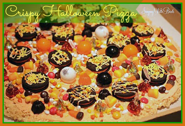 Krispy Halloween Pizza