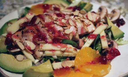 Cranberry Orange Grilled Chicken Salad