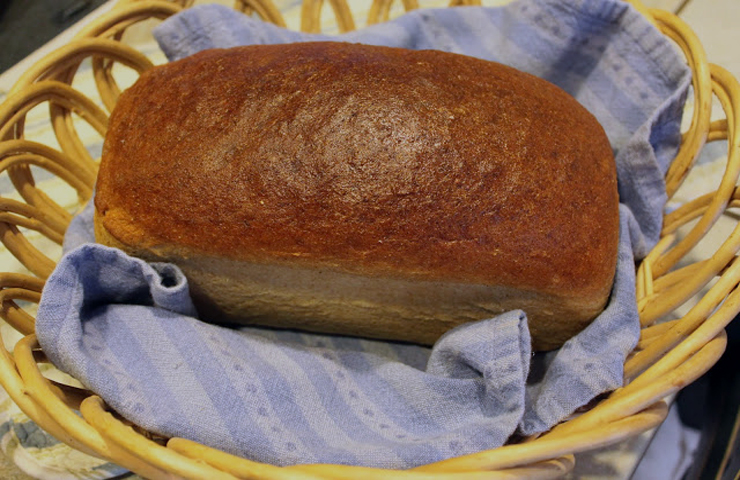 Whole Wheat Bread Recipe with Huckleberry Butter