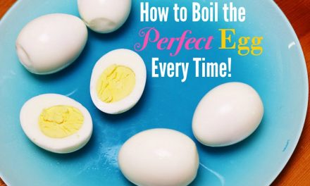 How to Boil the Perfect Egg Every Time