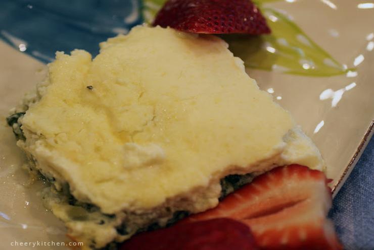 Spinach Artichoke Cheese Casserole