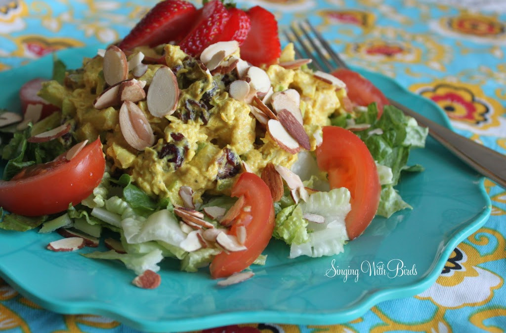 Chicken Apple Curry Salad