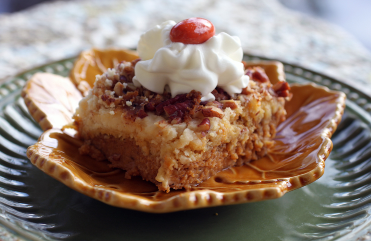 Pumpkin Crunch Dessert